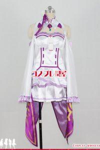 Re:ゼロから始める異世界生活 エミリア コスプレ衣装 フルオーダー