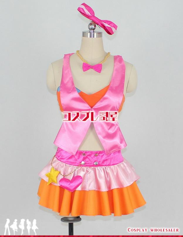 アイドルマスター シンデレラガールズ SR+ 城ヶ崎莉嘉 凸レーション コスプレ衣装 フルオーダー