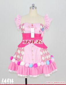 アイドルマスター シンデレラガールズ 三村かな子 Cute jewelries! 002 パニエなし コスプレ衣装 フルオーダー