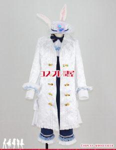 ツキウタ。 霜月隼(しもつきしゅん) 白兎王国 コスプレ衣装 フルオーダー