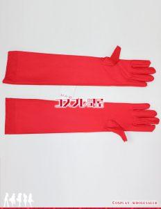 ストレッチ手袋 赤 コスプレ衣装 フルオーダー