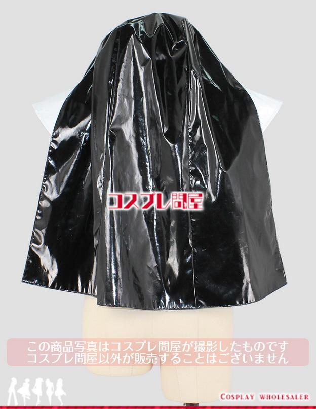 Cyber nun with electronic Holy Bible シスター フードと白い襟 エナメル製 コスプレ衣装 フルオーダー