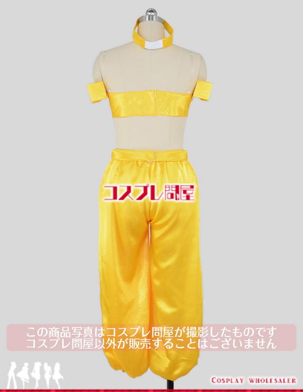 ディズニー アラジン ジャスミン 特注金色 髪飾り付 コスプレ衣装 フルオーダー