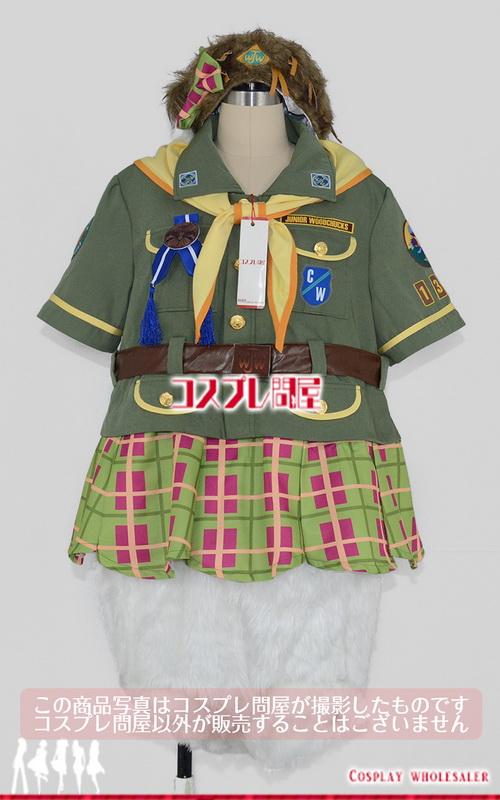 東京ディズニーランド(TDL) キャンプ・ウッドチャック デイジー プリントワッペン 帽子付き レプリカ衣装 フルオーダー