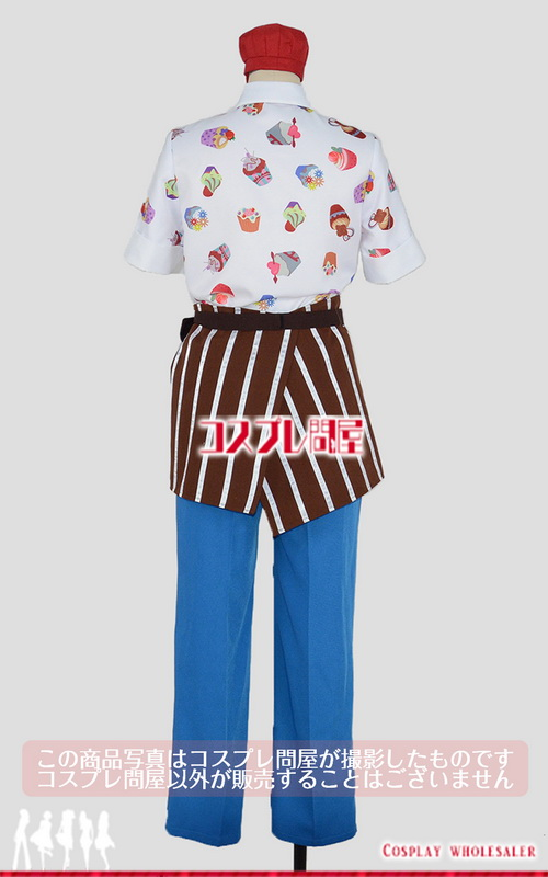 東京ディズニーシー(TDS) スウィート・ダッフィー2015 ジェラトーニ ミニハット付き レプリカ衣装 フルオーダー