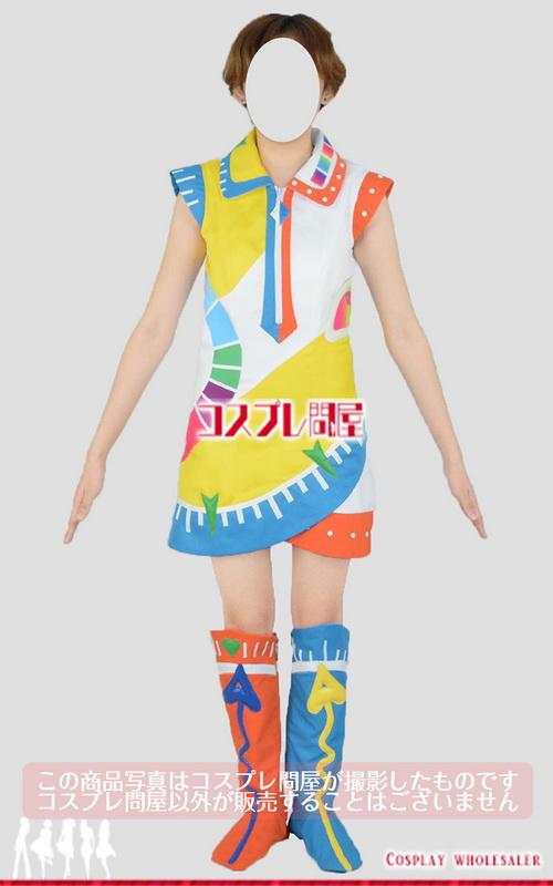 東京ディズニーランド(TDL) うさたま大脱走! オレンジ チェイサー ダンサー レッグカバー付き レプリカ衣装 フルオーダー