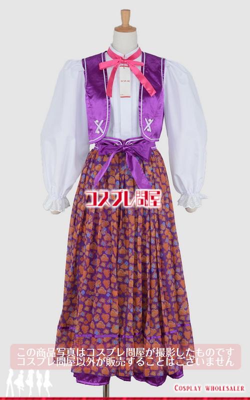 東京ディズニーシー(TDS) リドアイル・ウェルカム・トゥ・スプリング ダンサー 紫 レプリカ衣装 フルオーダー [2115]