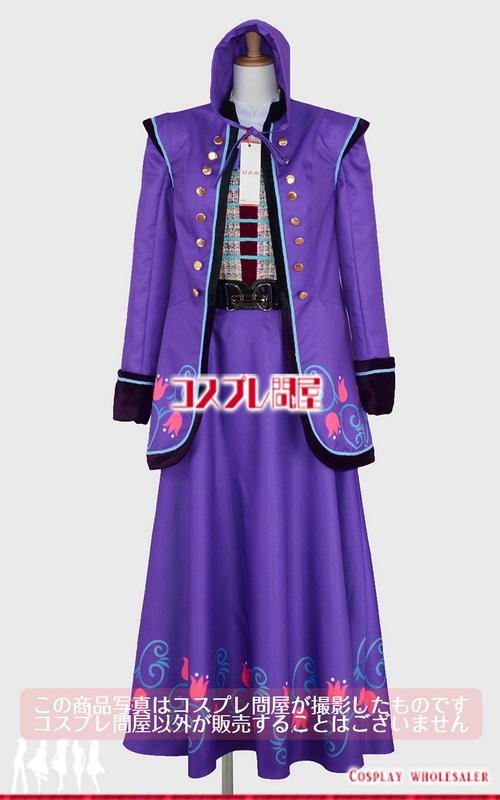 東京ディズニーランド(TDL) アナとエルサのフローズンファンタジー 2016 ダンサー 青紫 レプリカ衣装 フルオーダー