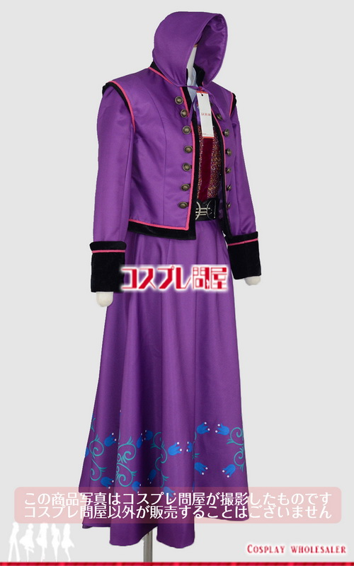 東京ディズニーランド(TDL) アナとエルサのフローズンファンタジー 2016 ダンサー 紫 レプリカ衣装 フルオーダー [2093]