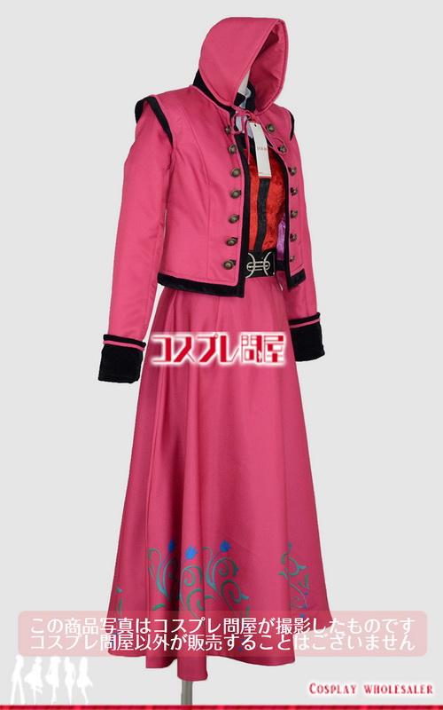 東京ディズニーランド(TDL) アナとエルサのフローズンファンタジー 2016 ダンサー 赤 レプリカ衣装 フルオーダー [2093]