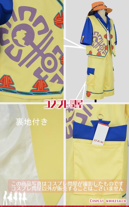 東京ディズニーシー(TDS) ミッキー&フレンズ・グリーティングトレイル ミッキー 帽子と耳カチューシャ付き レプリカ衣装 フルオーダー