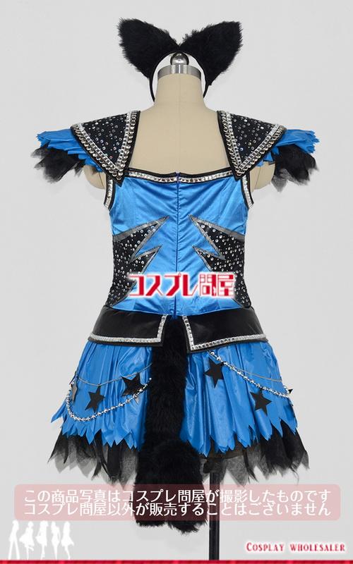 東京ディズニーランド(TDL) ハロウィーン・ポップンライブ2016 黒猫ダンサー 青 レプリカ衣装 フルオーダー [2203]