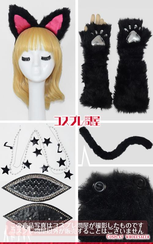 東京ディズニーランド(TDL) ハロウィーン・ポップンライブ2016 黒猫ダンサー ピンク レプリカ衣装 フルオーダー [2203]