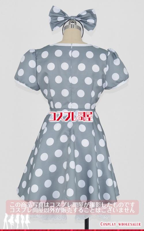 東京ディズニーランド(TDL) ミニーマウス グレー 手袋付き レプリカ衣装 フルオーダー [0263]