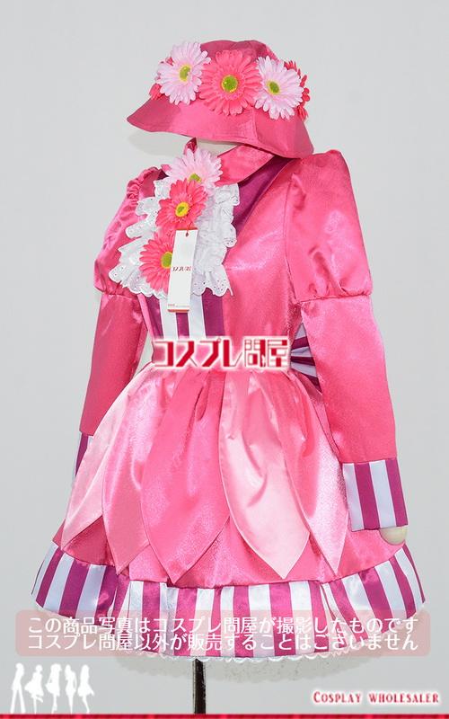 東京ディズニーランド(TDL) ウェルカムフラワーバンド ガーベラ 長袖 パニエ付き レプリカ衣装 フルオーダー [2064A]