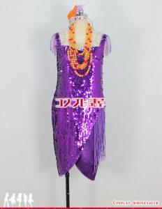 東京ディズニーシー(TDS) ニューヨーク・ハロウィーン・フォリーズ クラリス レプリカ衣装 フルオーダー