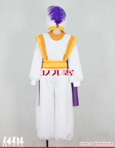ディズニー アラジンの大冒険 アラジン レプリカ衣装 フルオーダー