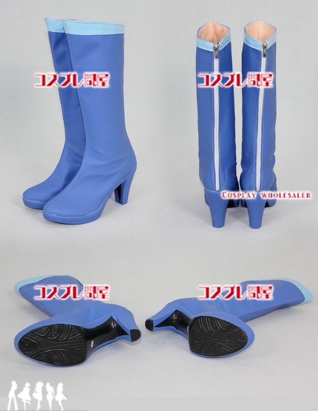 美少女戦士セーラームーン(セラムン) セーラーマーキュリー ロングブーツ 靴 コスプレ衣装 フルオーダー