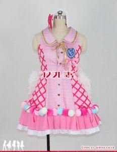アイドルマスター シンデレラガールズ 輿水幸子 Cute jewelries! 002 パニエなし コスプレ衣装 フルオーダー