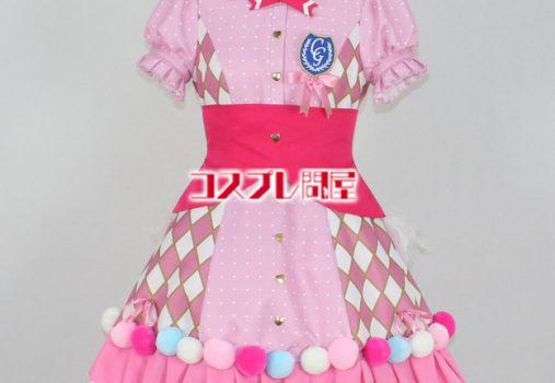アイドルマスター シンデレラガールズ 小早川紗枝 Cute jewelries! 002 パニエなし コスプレ衣装 フルオーダー