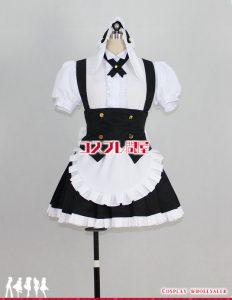 ご注文はうさぎですか?(ごちうさ) シャロ フルール・ド・ラパン メイド服 パニエ付 コスプレ衣装 フルオーダー