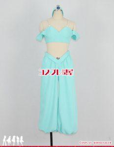 ディズニー アラジン ジャスミン 髪飾り付 コスプレ衣装 フルオーダー
