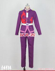 ベイブレードバースト 小紫ワキヤ コスプレ衣装 フルオーダー