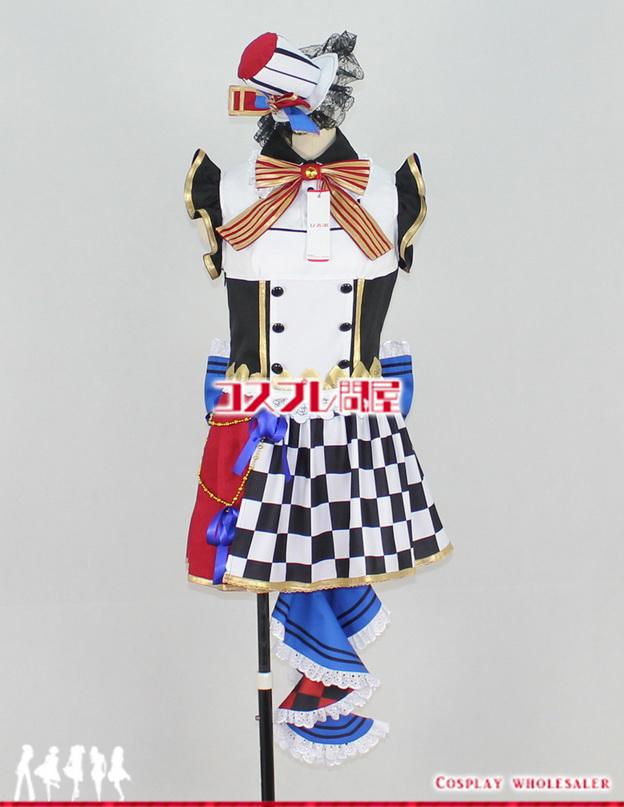 ラブライブ! スクールアイドルフェスティバル SR 小泉花陽 9月 カフェメイド編 覚醒後 コスプレ衣装 フルオーダー