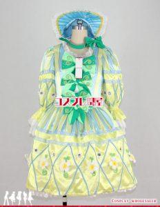 東京ディズニーランド(TDL) ヒッピティ・ホッピティ・スプリングタイム 女性ダンサー 黄 レプリカ衣装 フルオーダー