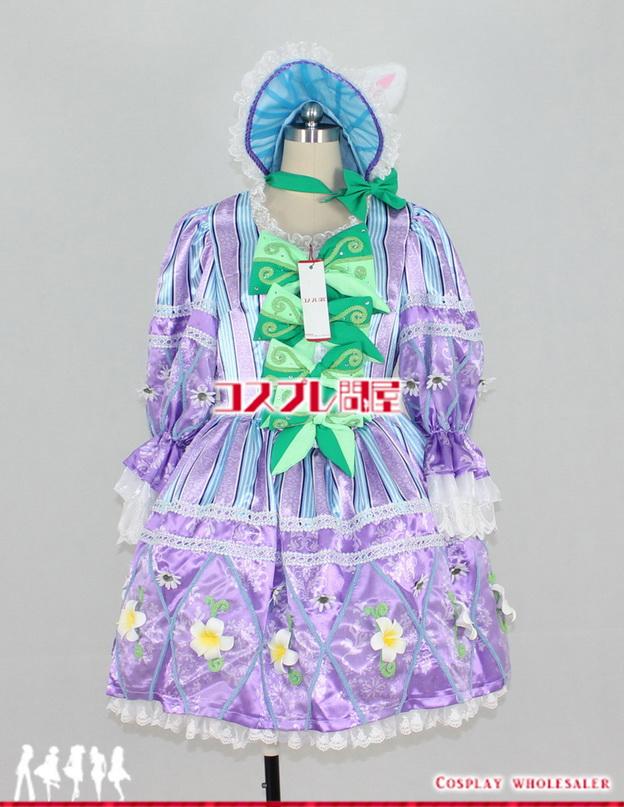 東京ディズニーランド(TDL) ヒッピティ・ホッピティ・スプリングタイム 女性ダンサー 紫 レプリカ衣装 フルオーダー