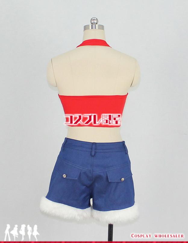ONE PIECE(ワンピース) ルフィ 女性用 ショート丈 タンクトップ コスプレ衣装 フルオーダー