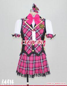 アイドルマスター2(THE IDOLM@STER 2・アイマス2) 天海春香 アイドル@スクール コスプレ衣装 フルオーダー