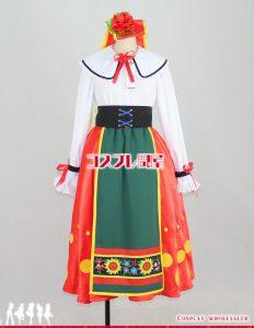 ディズニー・クルーズライン(DCL) 2014 地中海 イタリアンミニー レプリカ衣装 フルオーダー