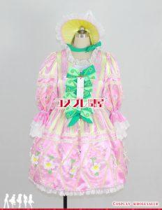 東京ディズニーランド(TDL) ヒッピティ・ホッピティ・スプリングタイム 女性ダンサー ピンク コスプレ衣装 フルオーダー