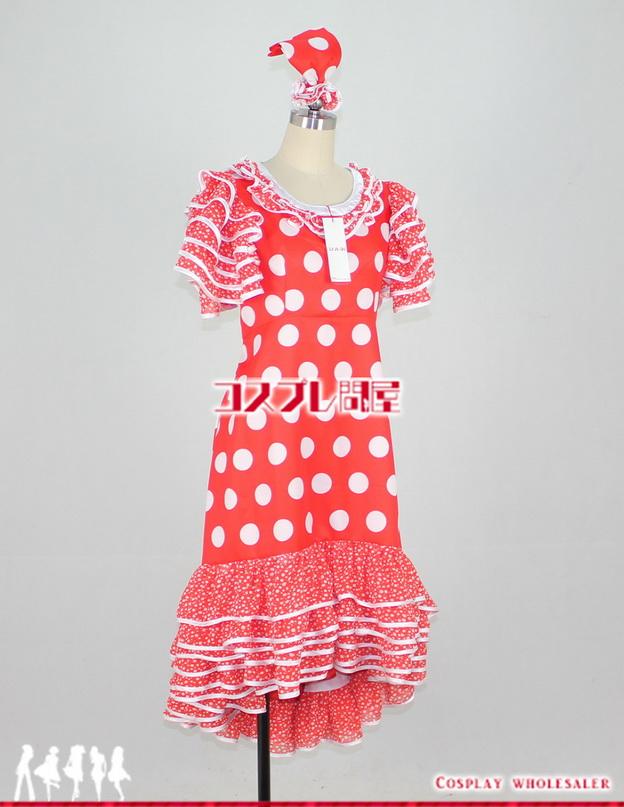 ディズニー・クルーズライン(DCL) 2014 地中海 フラメンコミニー レプリカ衣装 フルオーダー
