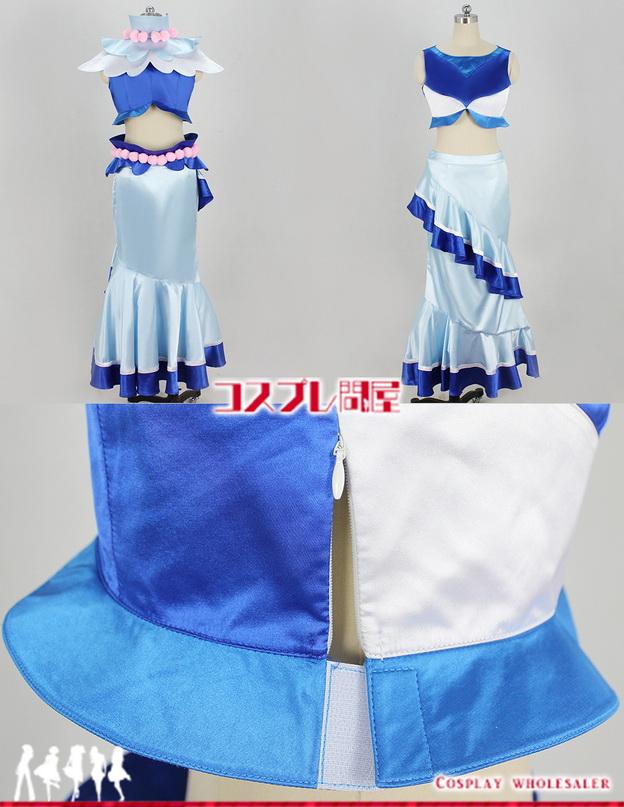 Go!プリンセスプリキュア キュアマーメイド エレガントモード コスプレ衣装 フルオーダー 🅿