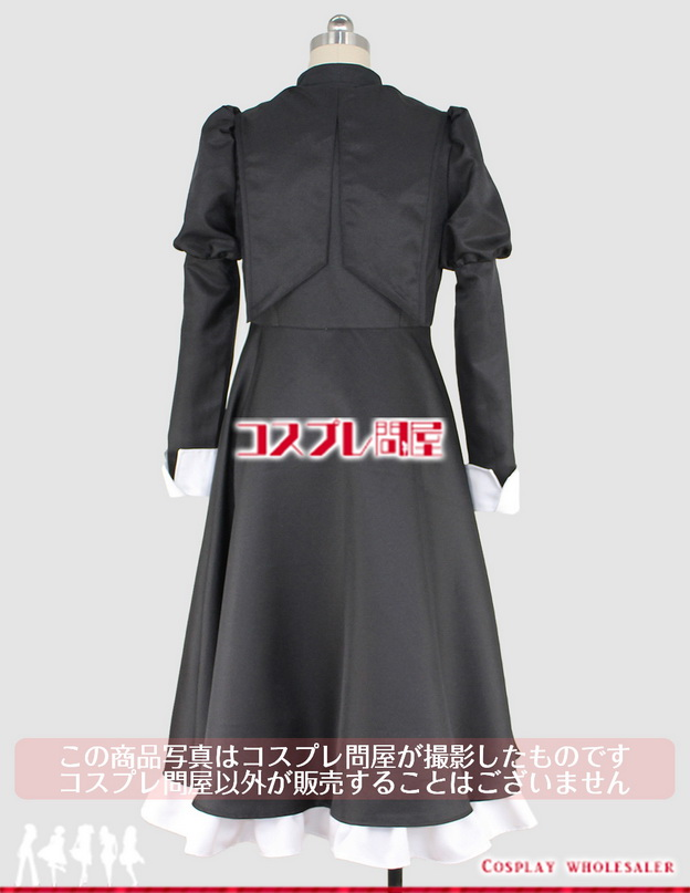聖痕のクェイサーラジオ2 翠玲学園制服 黒 コスプレ衣装 フルオーダー