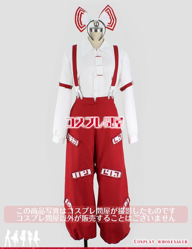 東方project(とうほうプロジェクト) 藤原妹紅(アレンジ版) 髪リボン付 コスプレ衣装 フルオーダー