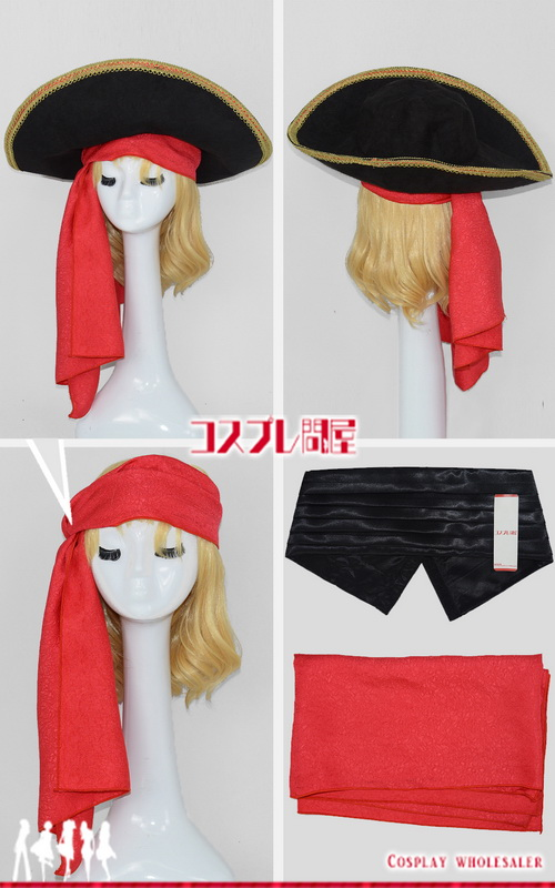 東京ディズニーシー(TDS) ヴィランズの手下 ホック 帽子付き 訂正版 レプリカ衣装 フルオーダー