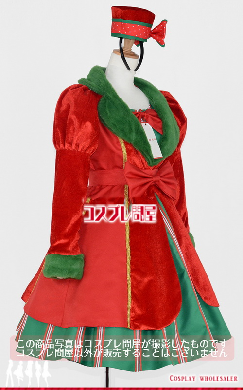 東京ディズニーシー(TDS) クリスマス・ウィッシュ2016 パーフェクト・クリスマス ミニー パニエ付き レプリカ衣装 フルオーダー [2118]