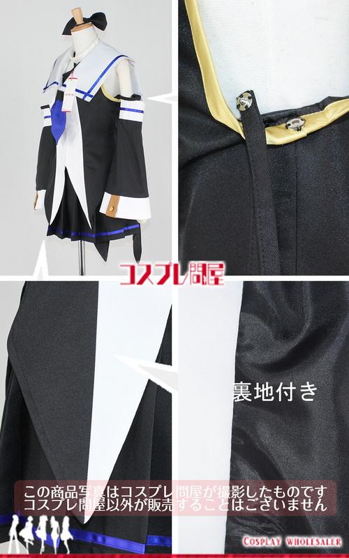 艦隊これくしょん -艦これ- 山風 アームカバー&ヘアリボン付き コスプレ衣装 フルオーダー [1680A]