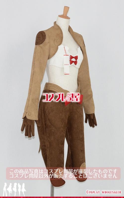 ラグナロクオンライン(RO) シーフ(女) ブーツカバー付き セーム革製 コスプレ衣装 フルオーダー [2432]