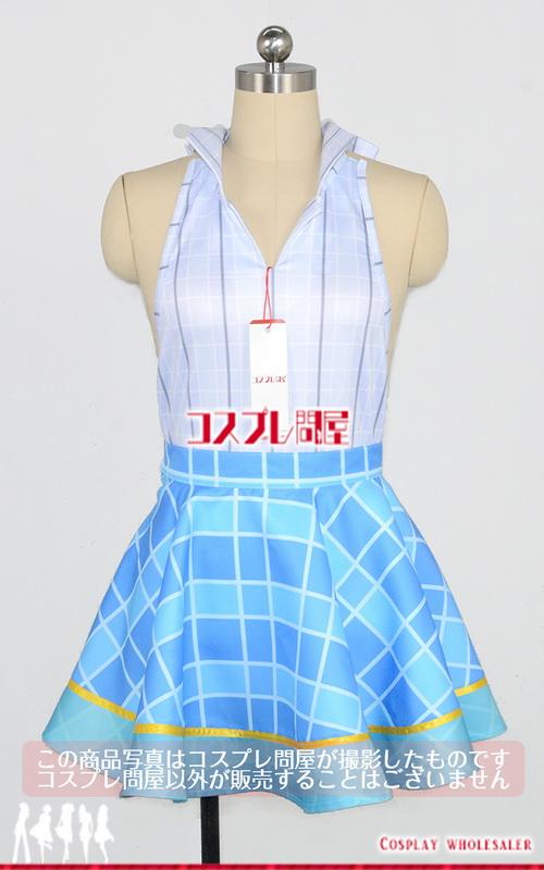 バーチャルYouTuber 電脳少女シロ 夏服 靴下付き コスプレ衣装 フルオーダー [2585]