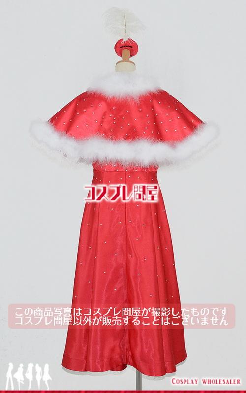 東京ディズニーシー(TDS) クリスマス・ウィッシュ2016 パーフェクト・クリスマス 女性ダンサー 赤 髪飾り付き 帽子付き レプリカ衣装 フルオーダー [2767]