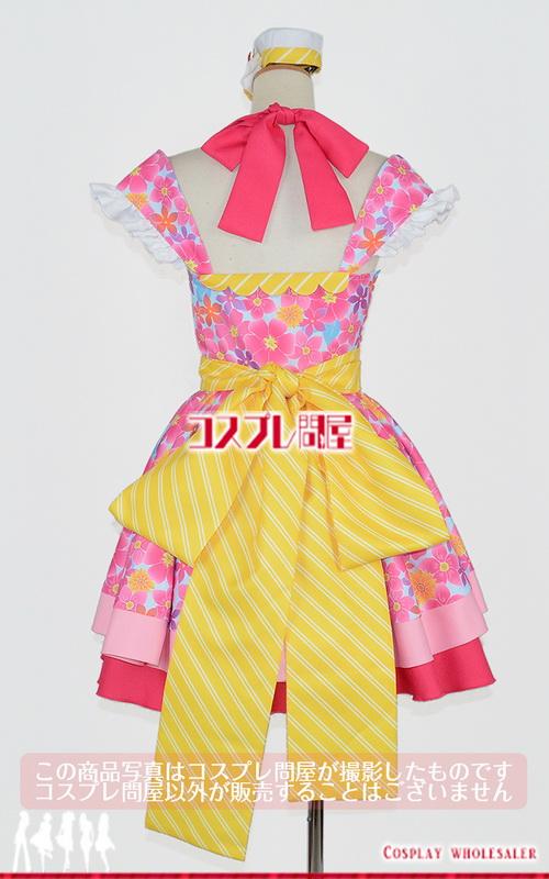 Tokyo 7th シスターズ(ナナシス) 春日部ハル SHAKE!!~フリフリしちゃえ~ 靴下付き コスプレ衣装 フルオーダー [2895A]