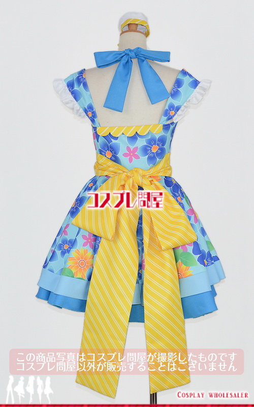 Tokyo 7th シスターズ(ナナシス) 晴海カジカ SHAKE!!~フリフリしちゃえ~ 靴下付き コスプレ衣装 フルオーダー [2895]