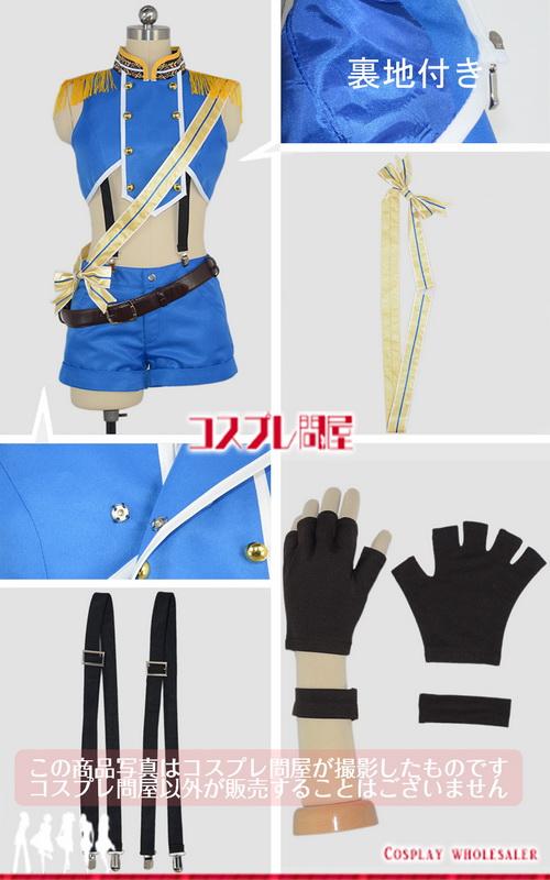 バーチャルYouTuber 鈴木ヒナ 靴下&手袋付き コスプレ衣装 [2948]