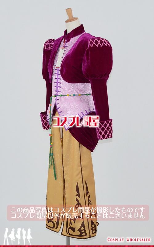 悪魔城ドラキュラ 闇の呪印 ジュリア・ラフォレーゼ コスプレ衣装 フルオーダー [3038]