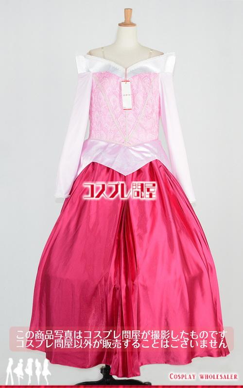 ディズニー オーロラ姫 パニエ付き コスプレ衣装 フルオーダー [2763]