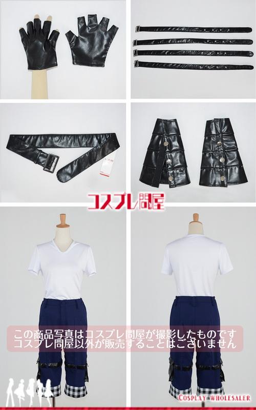 キングダム ハーツIII(KINGDOM HEARTS III・KH3) リク 手袋付き コスプレ衣装 フルオーダー [2807]